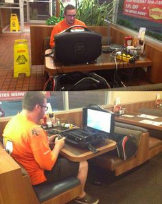 Big Mac and extension cord please - Don't Hate The Geek