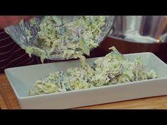 Surówka do potraw z grilla i nie tylko / Oddaszfartucha - YouTube Appetizer Salads, Appetizers, Polish Recipes, Polish Food, Garlic Knots, Bread Recipes, Grilling, Cabbage, Dessert Recipes