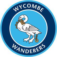 Wycombe Wanderers F., League Two, High Wycombe, Buckinghamshire, England Football Team Logos, Soccer Logo, Best Football Players, Uk Football, Sports Logos, Soccer Teams, England Football, English Football Teams, British Football