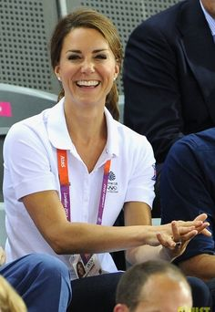 Princess Kate @ the Summer Olympics