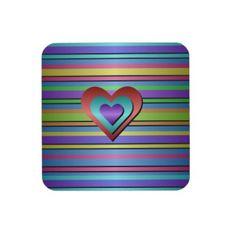 Ribbon Cork Coaster