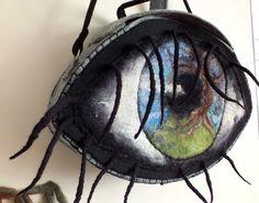 torba oko filcowane na mokro plus gotowy filc