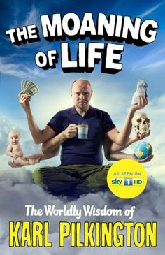 Starts airing tonight, 1/18/14 on Sci channel, The Moaning of Life: The Worldly Wisdom of Karl Pilkington by Karl Pilkington, http://www.amazon.co.uk/dp/1782111514/ref=cm_sw_r_pi_dp_rYwzsb14YP7ZC