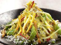 Gemüse-Kokos-Curry mit Basmatireis vegan Attila Hildmann