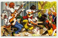 Mainzer postcard via Etsy