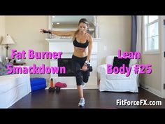 Total Body Summer Slimdown: HIIT & Strength Series #18 - YouTube