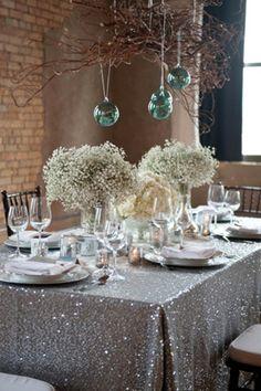 christmas, table