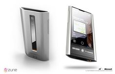 The Zune HD2 by Astro Studios
