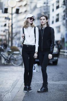 On the Street Harajuku, Tokyo #streetsnap #fashionsnap #endandstart