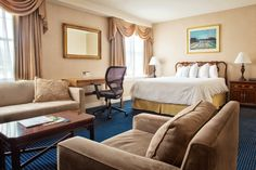 Enjoy the timeless elegance, history, and luxurious amenities at The Georgetown Inn, a landmark historic Georgetown hotel in Washington DC. Georgetown Washington Dc, Washington Dc Hotels, Executive Room, Timeless Elegance, Luxury, Bed, Rooms