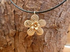 Double Flower Pendant #BeDelighted