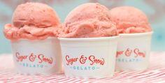 Anderson Design Group: Blog: Sugar & Snow Gelato Logo Design