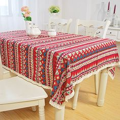 Cheap Table Cloth, Buy Directly from China Suppliers: Items will be shipped within busin Tablecloth Rental, Tablecloth Sizes, Checkered Tablecloth, Floral Tablecloth, Lace Table, Table Covers, Geometric Designs, Table Linens
