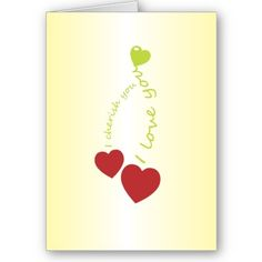 Cherry Love Card  Sweet loving note, for the one you cherish, love and adore.