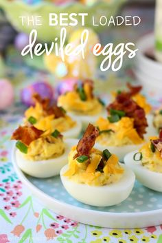 The Best Loaded Deviled Eggs And Easter Appetizer Tips #NaturallyFreshRecipe #ad