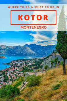 If you like sweeping vista views and enjoy a healthy dose of history you will find plenty of things to do in Kotor. Click here to find out what to do and see in Kotor Montenegro.