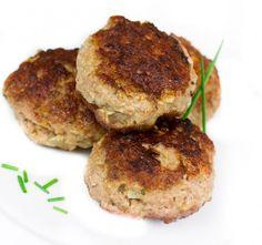 Salmon Burgers, Pork, Cooking Recipes, Keto, Tasty, Ethnic Recipes, Essen, Random Stuff, Kale Stir Fry