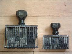 Vintage stampers.
