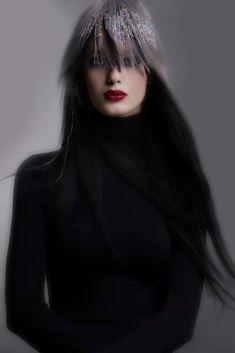Goth, Sculpture, Hair, Style, Fashion, Goth Subculture, Gothic, Moda, La Mode
