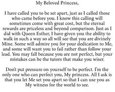 To My Beloved Princess Prayer Verses, Bible Verses Quotes, Faith Quotes, Scriptures, Quotes About God, Quotes To Live By, Spiritual Quotes, Positive Quotes, Gods Princess