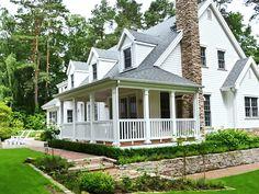 Amerikanische Häuser: Wohnen im US-Stil - bauen.de