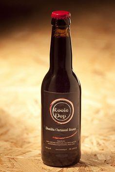 Cerveja Rooie Dop Double Oatmeal Stout, estilo Oatmeal Stout, produzida por Brouwerij de Molen, Holanda. 9.6% ABV de álcool.