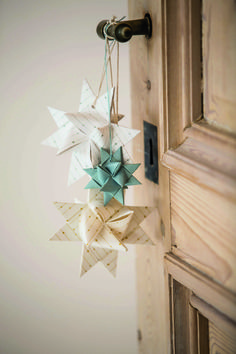 #Christmas #decoration #paper | Dille & Kamille