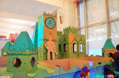 Cardboard maze (The Wizard of Oz)
