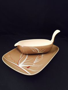 Winfield Desert Dawn Handle Gravy Boat And by missenpieces on Etsy