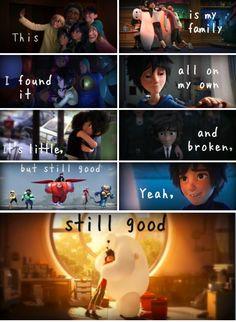 Stitches saying but Big Hero 6 style! Hiro Big Hero 6, The Big Hero, The Big Four, Disney Memes, Disney Quotes, Best Disney Movies, Good Movies, Disney And Dreamworks, Disney Pixar