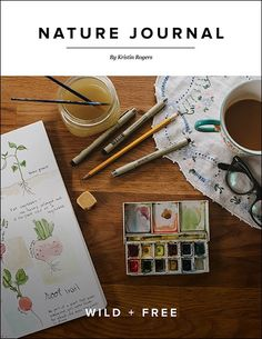 NATURE JOURNAL Book (Limited Supply) Coming this spring to Wild + Free is a new resource by Kristin Rogers called NATURE JOURNAL. This book is...