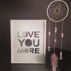 Gorgeous pastel dream catcher from @queenevedesigns  Would be perfect in a little girl's room!!