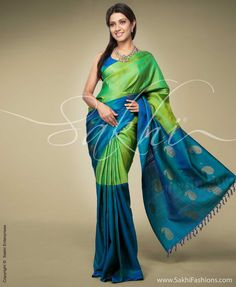 Indian Jewellery and Clothing: Stunning rich kanchivaram sarees from Sakhi fashions