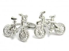 Classic Push Bike Cufflinks $25