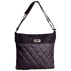 J. Furmani David Jones Women's Quilted Tote Handbag