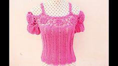 Fabulous Crochet a Little Black Crochet Dress Ideas. Georgeous Crochet a Little Black Crochet Dress Ideas. Crochet Bodycon Dresses, Black Crochet Dress, Crochet Blouse, Crochet Baby, Crochet Top, Crochet Stitches, Crochet Patterns, Crochet Summer Tops, Cute Blouses