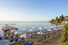 Welcome to Aeolos Corfu Beach Resort. One of the most beautiful Beach Resorts in Corfu, surrounded by gardens and the infinite blue of the Ionian Sea. Corfu Beaches, Beach Hotels, Beach Resorts, Corfu Holidays, Corfu Island, Greece Hotels, Family Pool, Best Hotel Deals, Greece