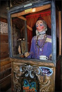 antique fortune telling machines - Google Search