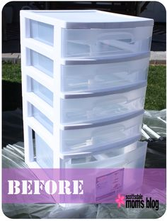 DIY office storage organization before 2 A huge list of easy DIY spray paint ideas for the home, revamping old things, furniture and creative wall art and craft projects. All great for beginners! Craft Organization, Craft Storage, Storage Bins, Bathroom Organization, Organizing Ideas, Office Storage Ideas, Scrapbook Organization, Office Ideas, Diy Arts And Crafts