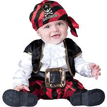 "Cap'n Stinker Pirate Halloween Costume - Infant Size 12 Months - InCharacter Costumes - Toys ""R"" Us"