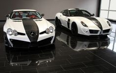 SLS Renovatio &  599 Stallone   by Mansory