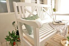 Schöne Weisse Gartenban. Perfekt Für Garten Und Terase ....oder Verfeinern  Sie