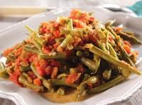 String Beans and Tomatoes