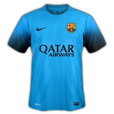 Camiseta del Barcelona Tercera 2015-2016 baratas