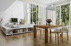 Diseño de Interiores con Acentos Naturales y Rústicos