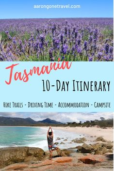 Going to Tasmania for 10 days? Check out this Ultimate Itinerary Tasmania! It is carefully curated and contain multiple hike trails, driving time, accommodation options, camp site (and phone number), budget and more! Brisbane, Sydney, Australia Travel Guide, Visit Australia, Queensland Australia, Western Australia, Nature Photography Tips, Ocean Photography, Tasmania Travel