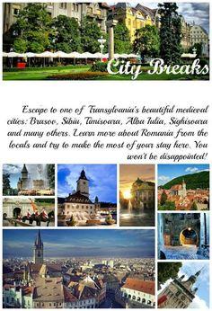 Sibiu, Sighisoara, Brasov - unique cities with a rich heritage