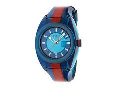 6a3a92fac23 Gucci SYNC - YA137112 (Blue) Watches. Nylon case. Adjustable rubber strap.