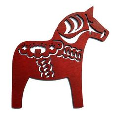 Preview image for Dala Horse Christmas Decorations