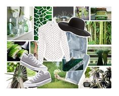 """""""Evergreen"""" by mssantos ❤ liked on Polyvore featuring Chanel, KEEP ME, Clu, Wrap, Converse, Edie Parker, Paul Smith, Charlotte Russe, women's clothing and women"""